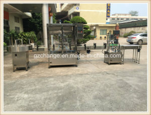 High Quality Linear Liquid Pastecwith Gear Pump Filling Machine pictures & photos