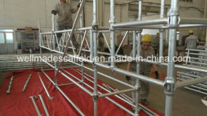 Galvanized Cuplock Scaffolding Systems for USA Construction pictures & photos