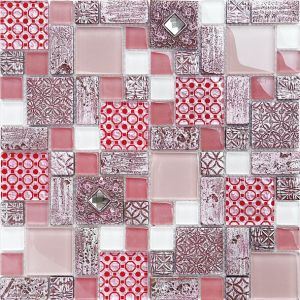 Foshan Good Price Hot Sale Glass Tiles Mosaic pictures & photos