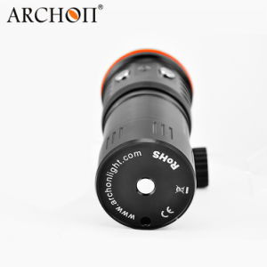 Scuba Diving Photography Underwater Video LED Flashlight Torch CREE Xm-L2u2 LED pictures & photos