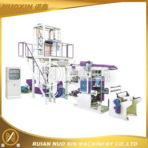 PE Film Blowing Machine with Online Flexo Printing pictures & photos