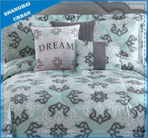 Grass Green Design Printed Cotton Duvet Cover Bedding pictures & photos