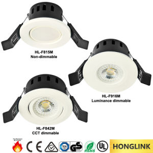 Ce RoHS IP20 LED Fire Rated Downlight with 90mins Fire Resistance pictures & photos