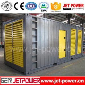 1250kVA Container Power Generation 1000kw 1MW Cummins Diesel Generator Set pictures & photos