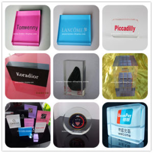 Clear Acrylic Logo Brand Sign for Sell (BTR-I8053) pictures & photos