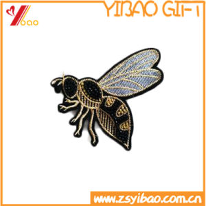 Custom Animal Embroidery Badge, Embroidery Patch, with Woven Label (YB-Embroidery 409) pictures & photos