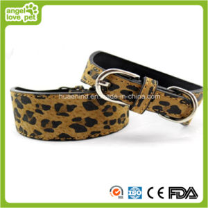 Leopard Print Pet Collar and Leash Dog or Cat Collar pictures & photos