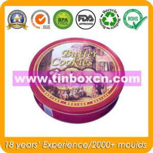 Cookies Tin Can, Biscuit Tin, Snack Tin, Food Tin Box pictures & photos