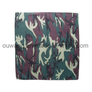 Cotton Material Square Camouflage Bandana 55*55cm pictures & photos
