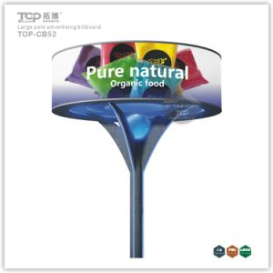 Outdoor Large Pole Cylindric Trivision Advertising Billboard pictures & photos