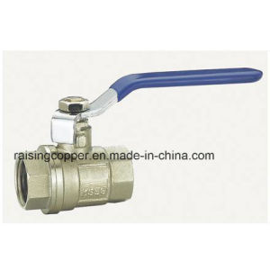 Nickel Plated Ball Valve pictures & photos