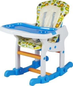 European Standard Plastic Baby Products Feeding High Chair with Rocker Ca-Hc520 pictures & photos