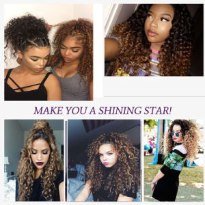 Brazilian Human Hair Extensions 1b 27 30 Blonde Deep Brazilian Virgin Hair pictures & photos
