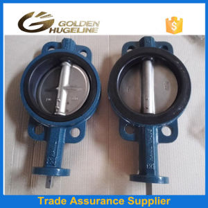 Handles Operated Cast Iron Wafer Type Butterfly Valve pictures & photos