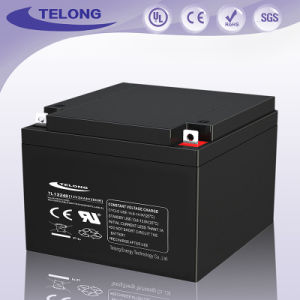 12V24ah Lead Acid AGM Solar Battery for Power pictures & photos