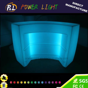 Lounge Furniture Blinking PE Rechargeable Lighted LED Counter pictures & photos