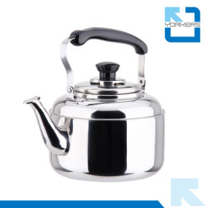 Multi Size Whistling Stainless Steel Bakelite Handle Kettle pictures & photos