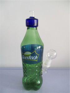 mm-018 Green Glass Smoking Pipe