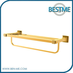 Hardware Fitting Gold Double Gold Towel Bar Golden Towel Bar pictures & photos
