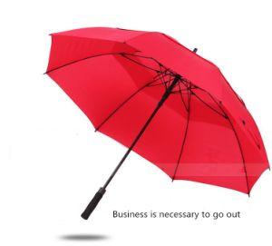 Semi Automatic Full Fiber Double Layer Umbrella pictures & photos