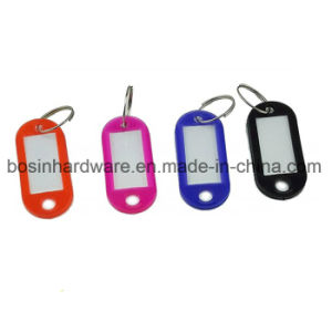 Plastic Key Tag with Writing Paper Insert pictures & photos
