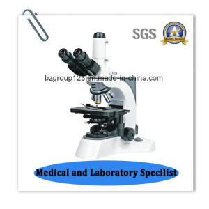 Laboratory Trinocular Biological Digital Microscope pictures & photos