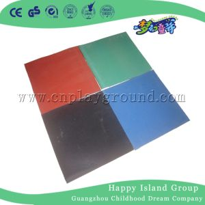 100X100cm Playground Flooring Safety Rubber Mat with En1171 En1177 (M11-12401) pictures & photos