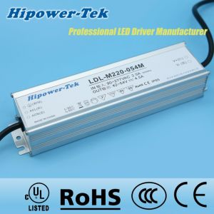 220W Waterproof IP65/67 Outdoor Dimmable Power Supply LED Driver pictures & photos