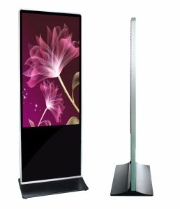 "55"" Floor Standing Digital Signage, Totem, LCD Advertising Kiosk pictures & photos"