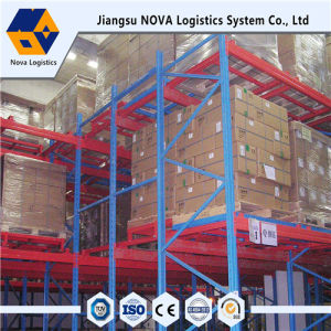 Steel Metal Push Back Racking for Warehouse Storage pictures & photos