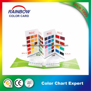 Emulsion Epoxy Floor Paint Color Card for Advertisement pictures & photos