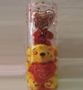 Custom Gift Plastic tube with printing (christmas gift box) pictures & photos