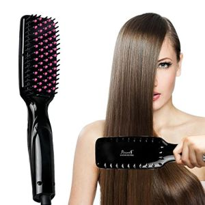 Ce RoHS LED Hair Straightening Brush