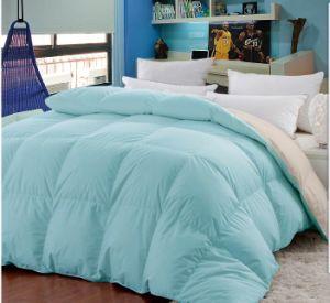 Light Blue Soft 100%Goose Down Comforter pictures & photos