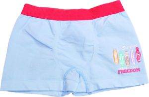 Kids Boy′s Seamless Cotton Boxer Shorts pictures & photos