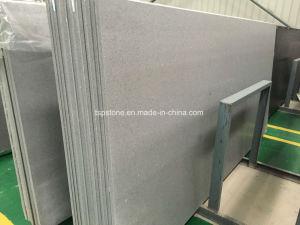 Carrara White Quartz Slab for Kitchen Countertop pictures & photos