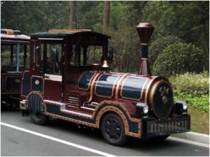 Amusement Diesel Power Trackless Train for Park pictures & photos