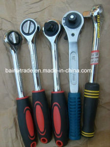 "3/8"" Hot Sale Quick Release Ratchet Wrench for China pictures & photos"