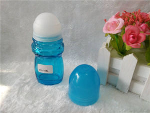 50ml Roll on Glass Perfume Bottle with Color Cap Rob-1 pictures & photos