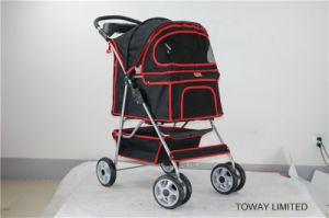 Quality Large Pet Strollers Outdoor Travel Dog Carriers Stroller pictures & photos
