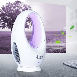 10 Inch Remote Control Electric Bladeless Fan Oscillating Fan with LED Scene Lights pictures & photos