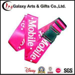 Cheap Nylon Screen Printed Custom Luggage Strap for Travel