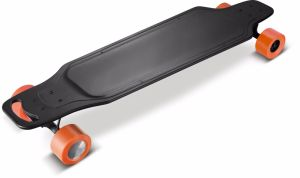 New Arrival Water Proof High Quality Dual Hub Motor Carbon Fiber Electric Skateboard