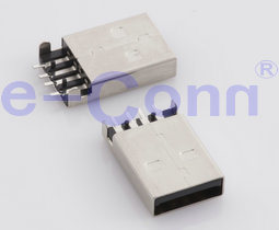 SMT USB2.0 Male/Female Connector PCB End pictures & photos