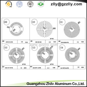 Building Material Sunflower Shaped Aluminum Extrusion Radiator pictures & photos