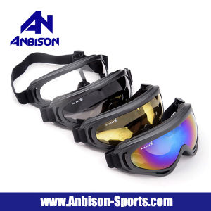 Hot Sale Outdoor Sports Cycling Skating Motorcycle Windproof Goggles pictures & photos