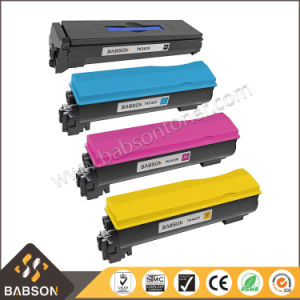 Babson Compatible Color Toner Cartridge for Kyocera Tk542 pictures & photos