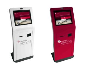 "Self-Service Kiosk Machine 22"" Touch Monitor, Projected Capacitive Touch pictures & photos"