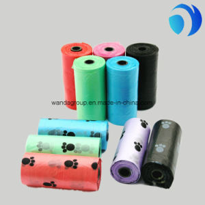 Eco Friendly Plastic Poop Bags Dog Poop Bag Rose Scented 3 Rolls Per Inner Box pictures & photos