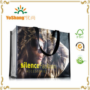 Custom Bag Full Color Matt Lamination Promotional PP Woven Shopping Bags pictures & photos